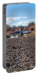 Trout Stream Portable Battery Charger