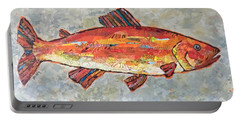 Trudy The Trout Portable Battery Charger
