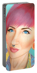 True Beauty - Jerica Wentzell Portable Battery Charger