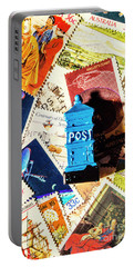 True Blue Postbox Portable Battery Charger