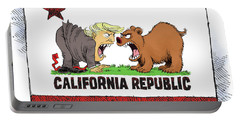 Trump And California Face Off Portable Battery Charger