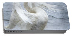 Trumpeter Swan - Misty Display 2 Portable Battery Charger