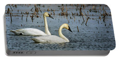 Trumpeter Swan - Pair Portable Battery Charger