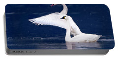Trumpeter Swans Portable Battery Charger