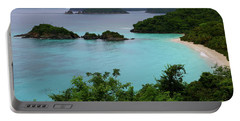 Portable Battery Charger featuring the photograph Trunk Bay At U.s. Virgin Islands National Park by Jetson Nguyen