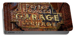 Trust In Rust Portable Battery Charger by Linda Unger