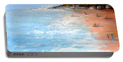 Portable Battery Charger featuring the painting Tuesday On Maui by Fred Wilson