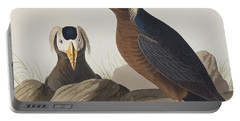 Tufted Auk Portable Battery Charger by John James Audubon