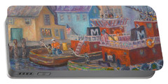 Tug Boats Portsmouth Maritime Painting Portable Battery Charger