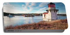 Tugboat, Squirrel Point Lighthouse Portable Battery Charger