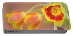 Tulip Beauty Portable Battery Charger by Deborah  Crew-Johnson