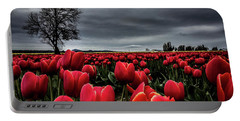 Tulip Fields Portable Battery Charger