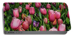 Tulip Flowers  Portable Battery Charger
