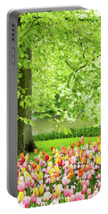 Tulip Garden - Amsterdam Portable Battery Charger