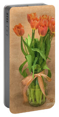 Tulip Impasto Portable Battery Charger