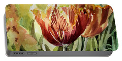 Tulip Light Portable Battery Charger by Mindy Newman