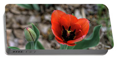 Tulip Show Portable Battery Charger