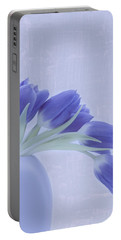 Tulips And Birdies  Portable Battery Charger