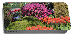 Tulips And Rhodies Portable Battery Charger