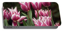 Tulips Bed  Portable Battery Charger