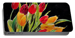 Tulips Colors Portable Battery Charger