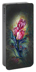Tulips Fantasy Portable Battery Charger