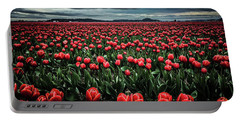 Tulips Forever Portable Battery Charger