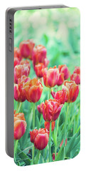 Tulips In Amsterdam Portable Battery Charger