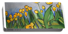 Tulips In Springtime Portable Battery Charger