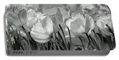 Tulips Portable Battery Charger by JoAnn Lense