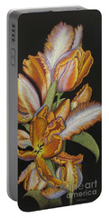 Tulips Of Fire Portable Battery Charger