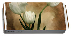 Tulips Three Portable Battery Charger