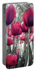 Tulips Tinted Portable Battery Charger