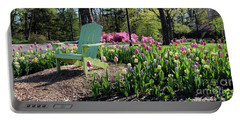 Tulips Toledo Botanical Gardens 0573 Portable Battery Charger