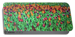 Tulips Tulips Everywhere Portable Battery Charger