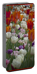 Tulips... Tulips... Everywhere Portable Battery Charger