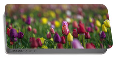 Tulips Portable Battery Charger by William Lee