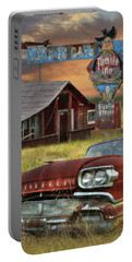 Portable Battery Charger featuring the photograph Tumble Inn by Lori Deiter