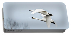 Tundra Swan Lift-off Portable Battery Charger