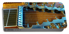 Tuning Pegs On Sho-bud Pedal Steel Guitar Portable Battery Charger