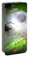 Tunnel Web  Portable Battery Charger by Christy Ricafrente