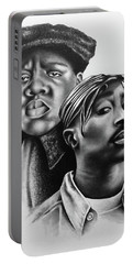 Tupac And Biggie Portable Battery Charger