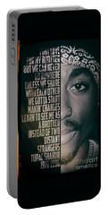 Tupac Shakur Portable Battery Charger