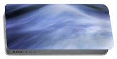 Portable Battery Charger featuring the photograph Turbulence 3 by Mike Eingle