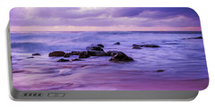 Turbulent Daybreak Seascape Portable Battery Charger