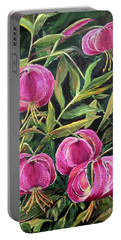 Turk Tigers In My Garden Portable Battery Charger