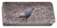 Turkey 1155 Portable Battery Charger by Michael Peychich