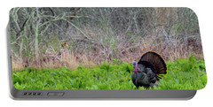 Portable Battery Charger featuring the photograph Turkey And Cabbage by Bill Wakeley