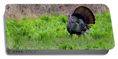 Portable Battery Charger featuring the photograph Turkey And Cabbage Square by Bill Wakeley