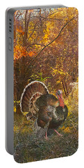 Turkey In The Woods Portable Battery Charger